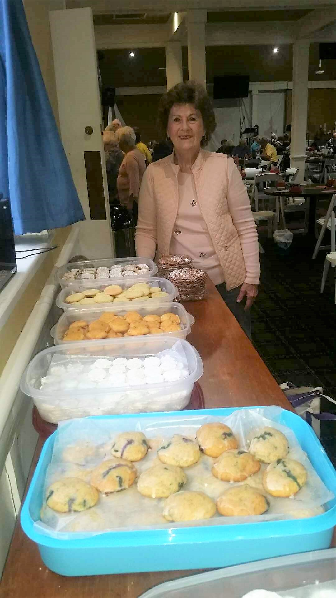 Carolyn Wolf, AKA the cookie lady