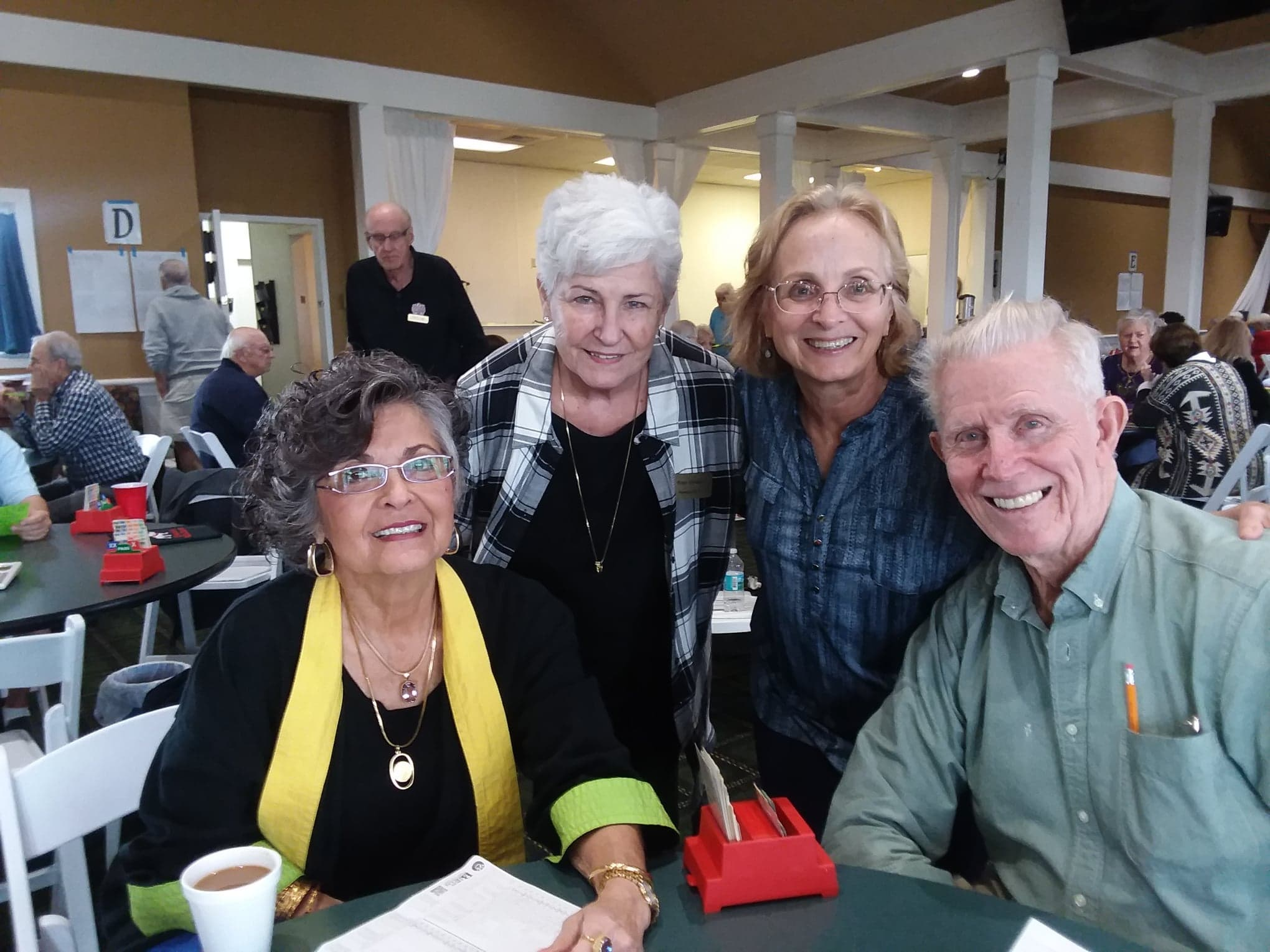 Joyce Gardner, Fran Viviano, Mary Cummins, our outstanding partnership chair & Billy Sanders